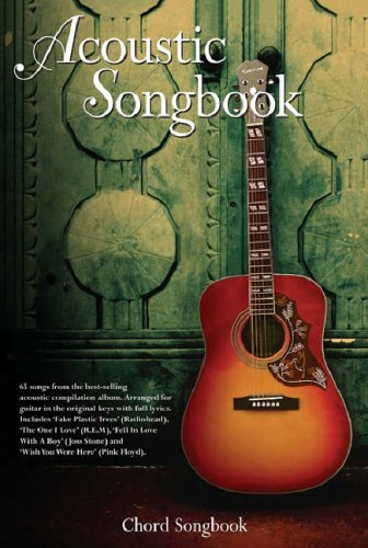 9780711940741: Acoustic Songbook Chord Lyrics and Chors Books: Chord Songbook