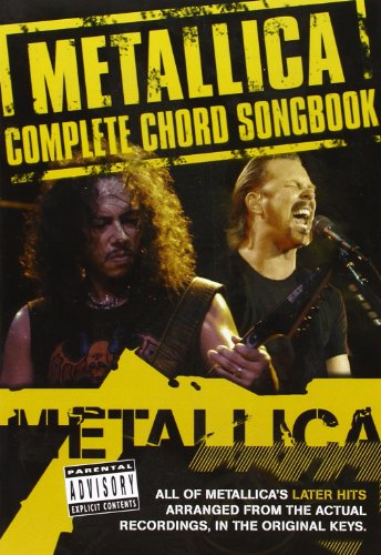 9780711940918: Metallica: Complete Chord Songbook - the Later Years