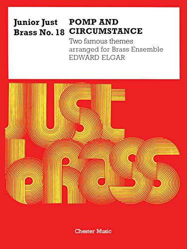 9780711941519: JUNIOR JUST BRASS NO 18 POMP AND CIRCUMSTANCE 5 PART SCORE AND PARTS