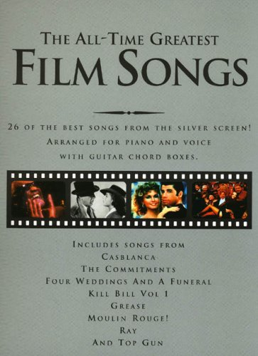 9780711941755: All-Time Great Film Songs