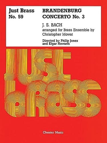 9780711941861: Brandenburg Concerto No. 3: Just Brass Series, No. 59