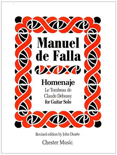 9780711941922: HOMENAJE: LE TOMBEAU DE CLAUDE DEBUSSY GUITAR