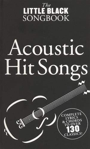 9780711942332: The Little Black Book of Songbook of Acoustic Hits