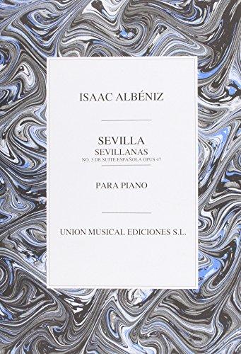 9780711942578: Albeniz Sevilla Sevillanas No.3 De Suite Espanola Piano