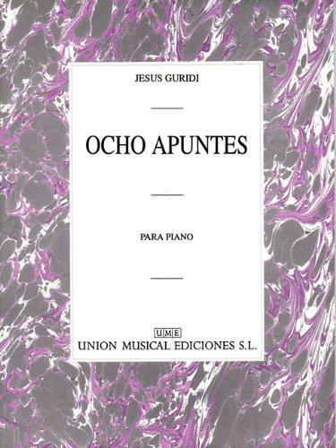 9780711943346: Guridi Ocho Apuntes Piano