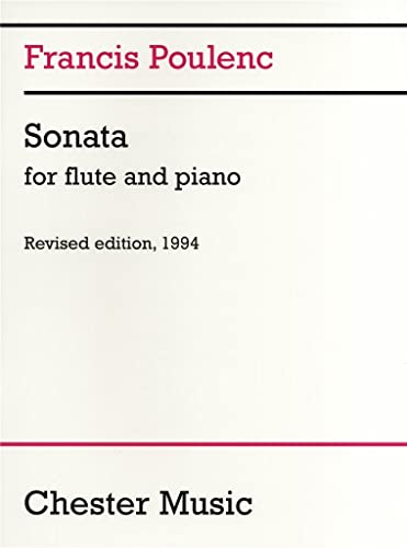 9780711943988: Sonata for Flute and Piano