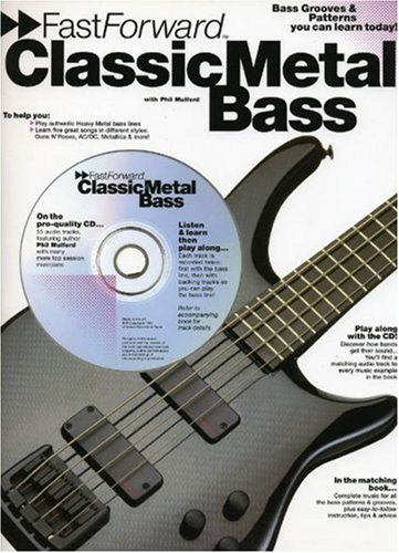 9780711945050: Fast Forward Classic Metal Bass (Fast Forward (Music Sales))