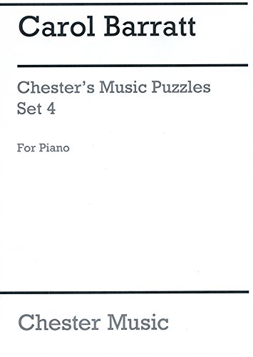 9780711948914: CHESTER S MUSIC PUZZLES SET 4 PF
