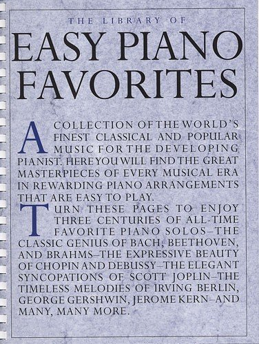 9780711951211: The Library Of Easy Piano Favorites