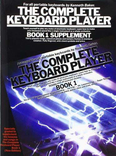 Complete Keyboard Player Book 1: Kenneth Baker