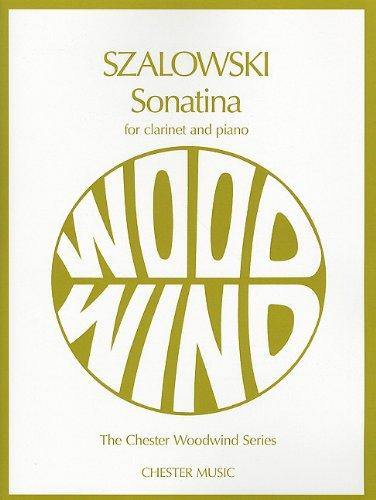 SONATINA CLARINET PIANO (Chester Woodwind): MUSIC SALES AMERICA
