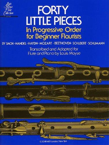 9780711952317: FORTY LITTLE PIECES IN PROGRESSIVE ORDER FOR BEGINNER FLUTISTS FLT BOO