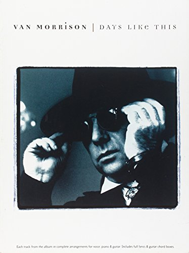 9780711952911: Van Morrison -- Days Like This: Piano/Vocal/Chords