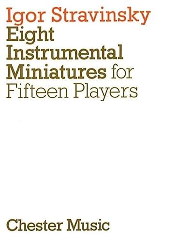 9780711954793: Eight Instrumental Miniatures: For Fifteen Players