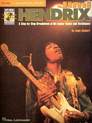9780711955219: Hendrix Jimi Signature Licks Tab + CD