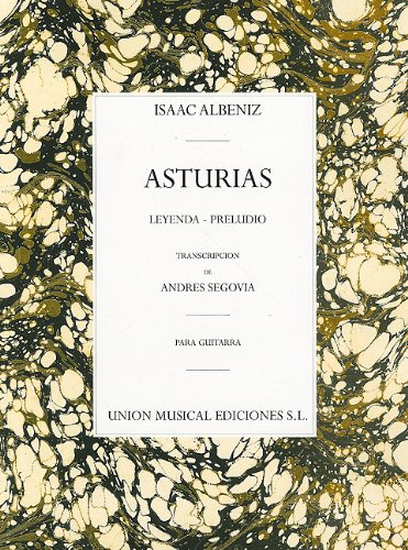 9780711955325: ASTURIAS PRELUDIO FOR GUITAR