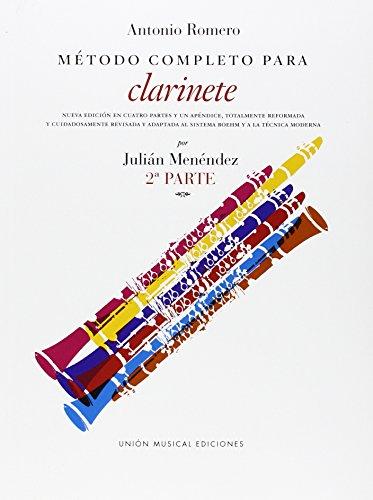 9780711958135: Romero Metodo Completo Para Clarinete (Menendez) Part 2