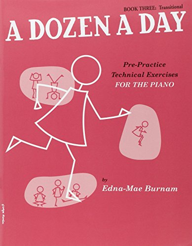 9780711960985: A Dozen a Day Volume 3 (Rouge) - Piano