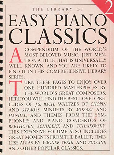 9780711961050: The Library of Easy Piano Classics 2