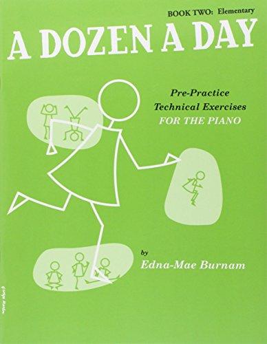 9780711961456: A Dozen a Day Volume 2 (Vert) - Piano