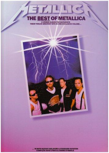 9780711962477: Best of Metallica-Guitar Tab-Music Book