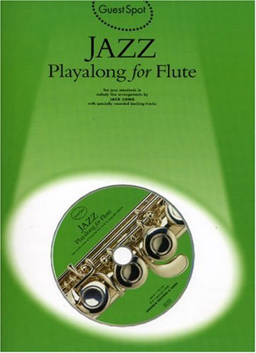 Jazz Playalong for Flute (9780711962521) by Jack Long
