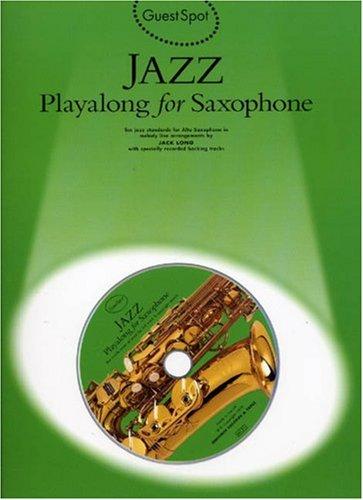 9780711962538: Guest Spot Alto Sax Jazz + Cd