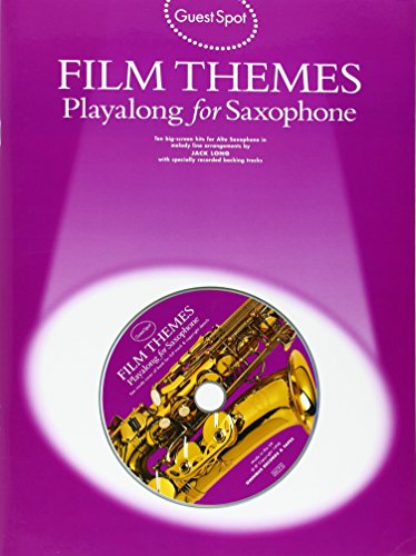 9780711962576: Guest Spot: Film Themes Playalong for Saxophone