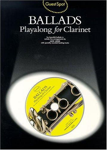 9780711962590: Guest Spot Ballads Clarinet + Cd