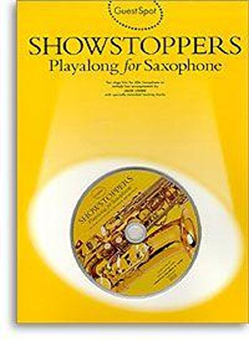 9780711962767: Guest Spot: Showstoppers Playalong for Saxophone