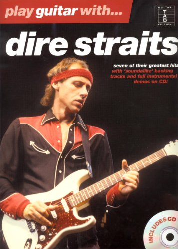 9780711963733: PLAY GTR DIRE STAITS + CD (Play guitar/bass/drum/PF..with)