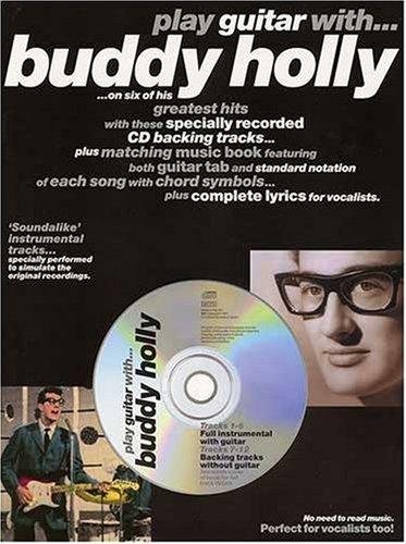 9780711965317: Play Guitar with Buddy Holly-Guitar Tab-Music book with Cd backing tracks
