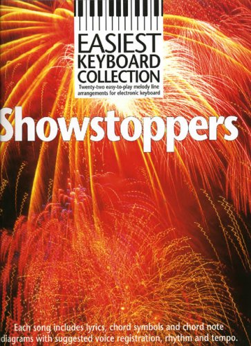 9780711966031: Easiest Keyboard Collection Showstoppers Melody Lyrics Chords Books