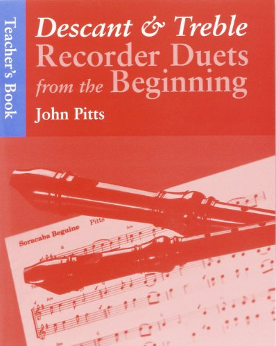 9780711966826: Descant & Treble Recorder Duets from the beginning - teacher's book