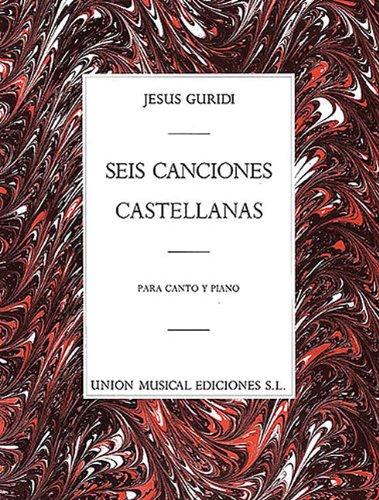 9780711968646: Jesus Guridi: Seis Canciones Castellanas