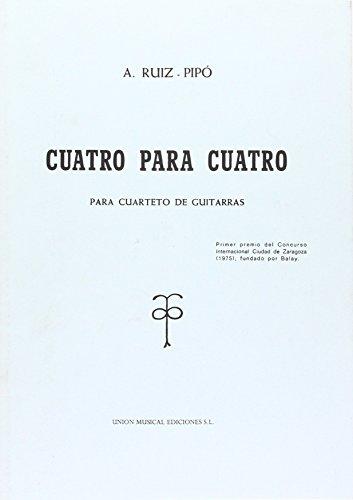 9780711968752: Ruiz-Pipo: Cuatro Para Cuatro
