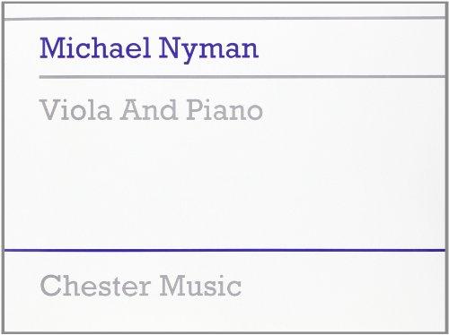 9780711968912: Michael Nyman: Viola and Piano