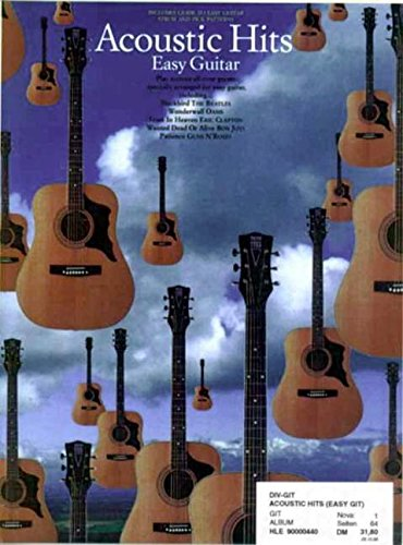 9780711969025: Acoustic Hits Easy Guitar