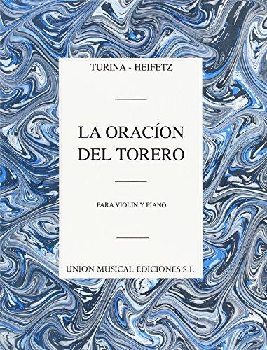 9780711969971: Turina/Heifetz: LA Oracion Del Torero
