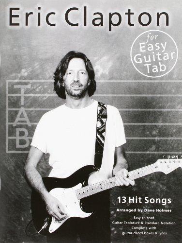 9780711970755: Eric Clapton for Easy Guitar Tab