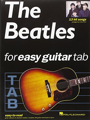9780711970816: The Beatles for Easy Guitar Tab