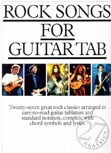 9780711971066: Rock Songs for Guitar: Acdc: Tabulature