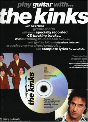 9780711971202: PLAY GUITAR WITH... THE KINKS TAB BOOK/CD