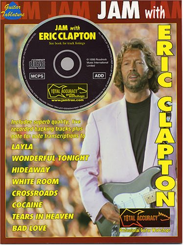 9780711971967: Jam with Eric Clapton Tab Book