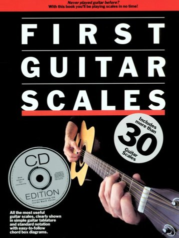 9780711972247: First Guitar Scales Gtr Tab Book/Cd