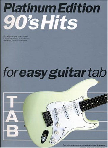 9780711972452: 90s Hits for Easy Guitar Tab: Platinum Edition