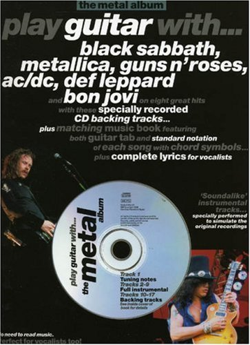 9780711972506: Play Guitar with... the Metal Album