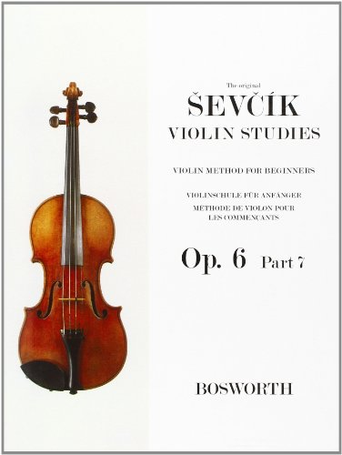 9780711972834: Otakar Sevcik: Violin Studies - Violin Method for Beginners Op.6 Part 7