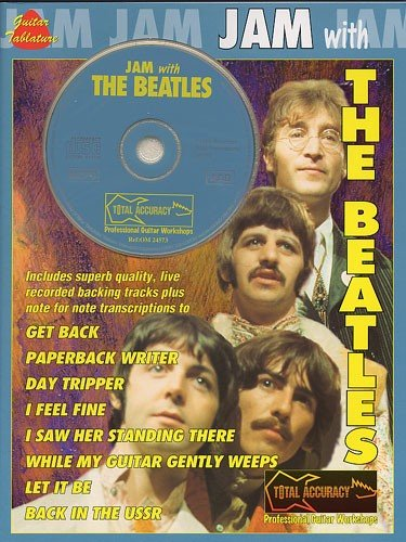 9780711972971: JAM WITH BEATLES V.1 + CD (Jam With The Guitar Greats)