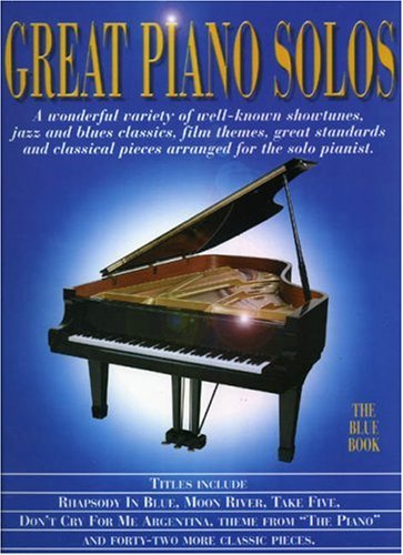 9780711973206: Great Piano Solos Blue Book